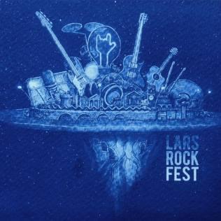 Lars rock fest postcard