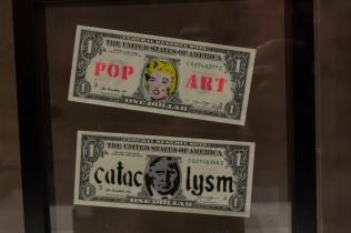 """""""A Visual Protest"""" Banksy, Caravan Serraglio"""