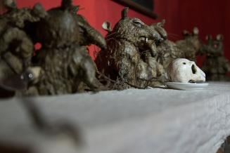 """""""Last supper of rats"""" Stefano Di Giusto, Don't stop, Caravan Serraglio"""